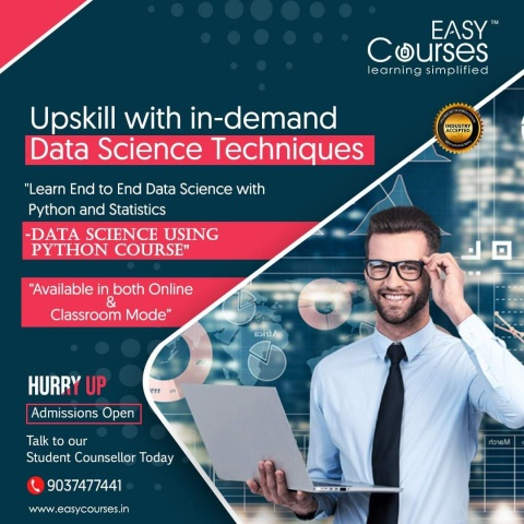 Easy Courses - Learn Data Science using Python Course
