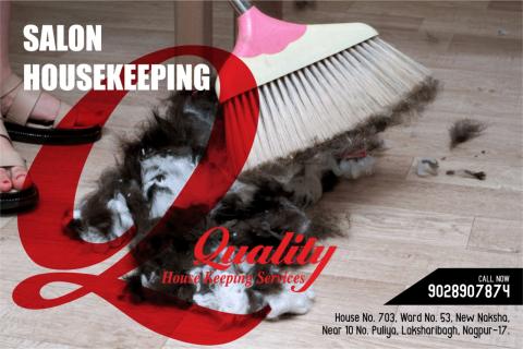 Salon Housekeeping Services In Nagpur India - qualityhousekeepingindia