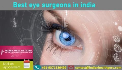 Best eye surgeons in india