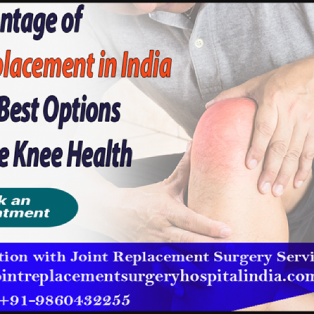 low-price Knee Replacement Surgery hospital  in India