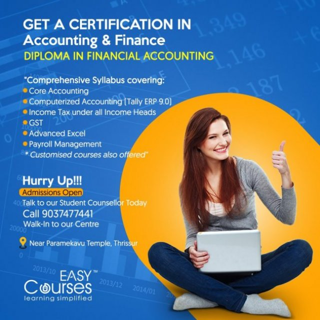 Easy Courses - Diploma in Financial Accounting Course