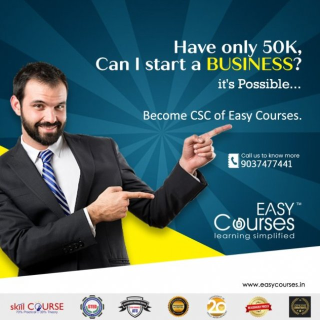 Easy Courses - Best Franchise Opportunity - Be our Customer Support Centre
