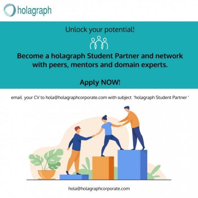 Holagraph Student Partner